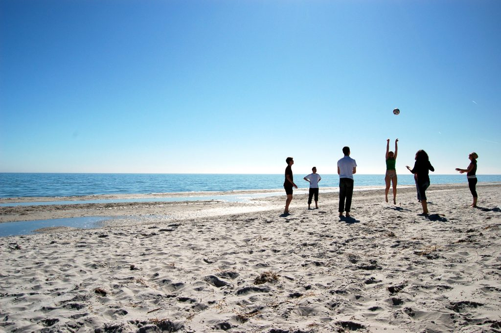 Beach Volley Crédit Bjaglin© Flickr Creative Commons