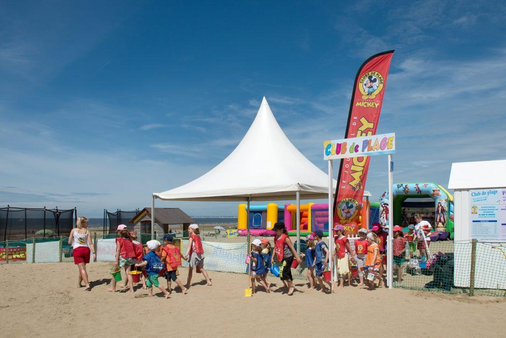 Club de plage de Villers sur mer
