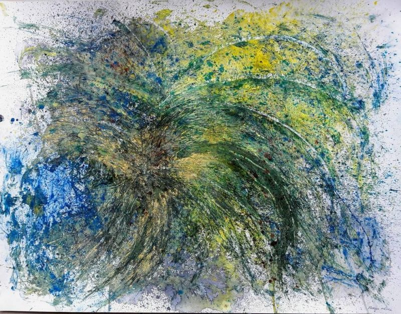 Marijo Alice© Abstrait peinture Villare